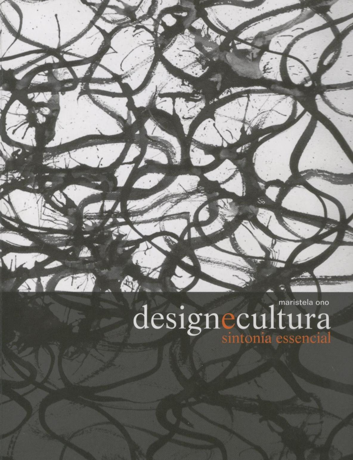 """Capa do livro """"Livro Design e Cultura: sintonia essencial"""""""