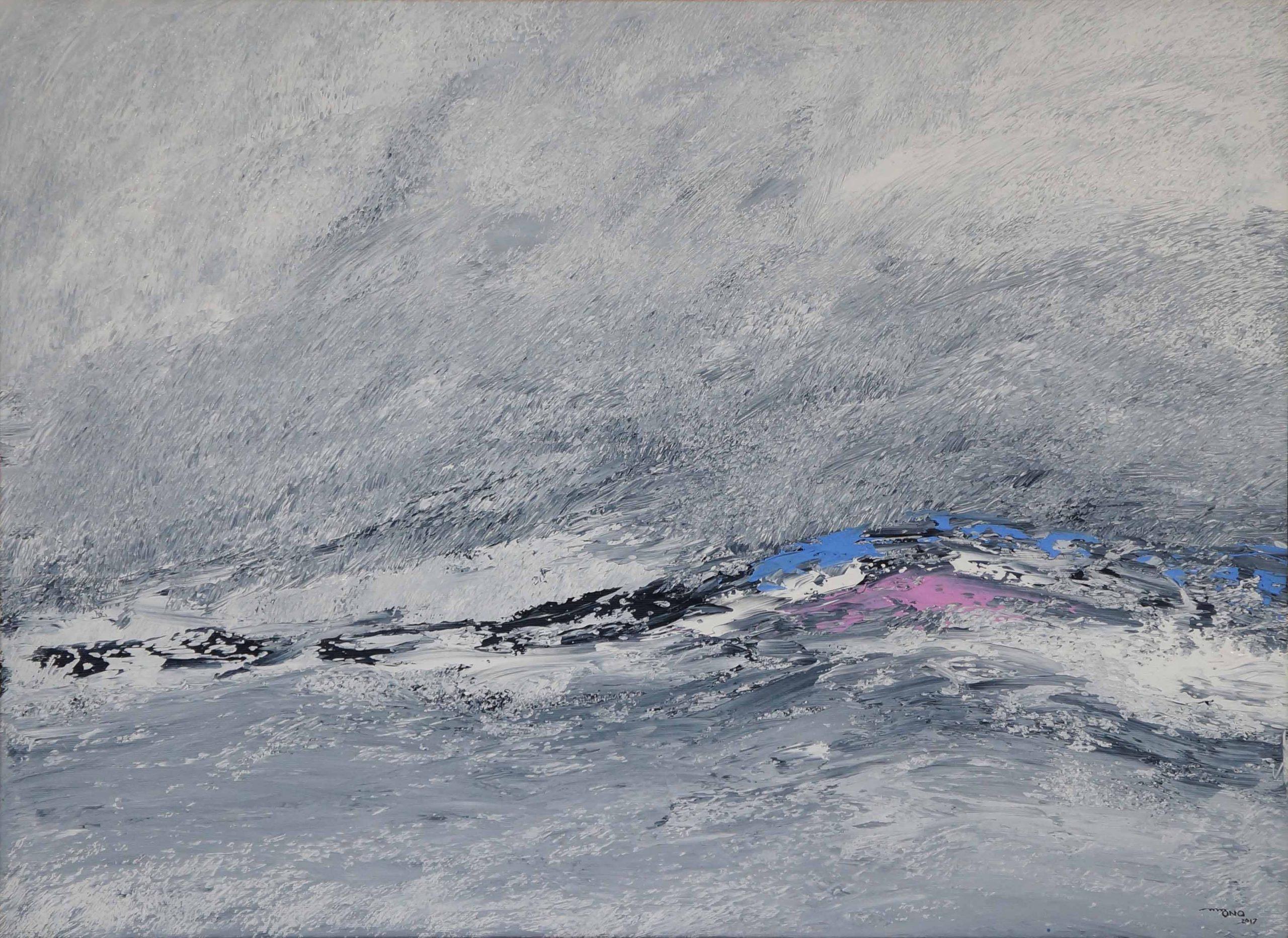 Acrílica sobre tela - 58,4 x 79,3 cm (2017)
