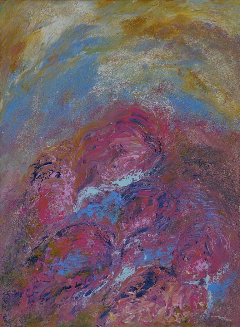 Acrílica sobre tela - 79,3 x 58,4 cm (2017)