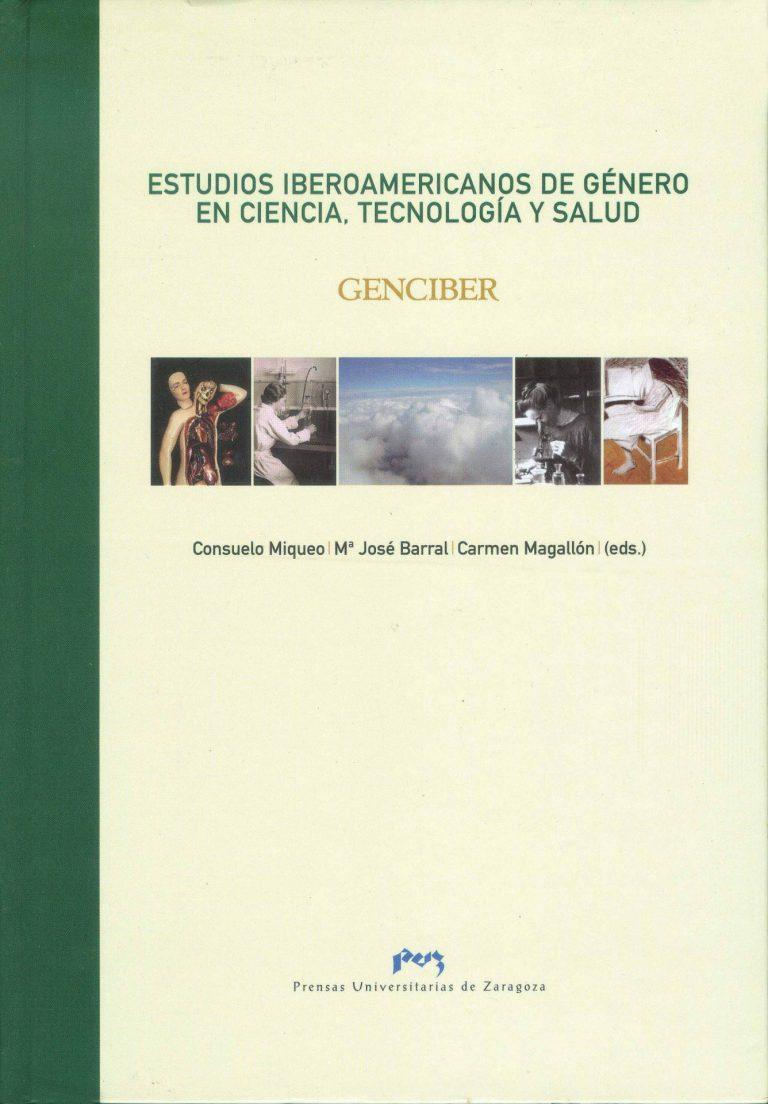 """Capa do livro """"Estudios iberoamericanos de género en ciencia, tecnología y salud"""" (2008)"""