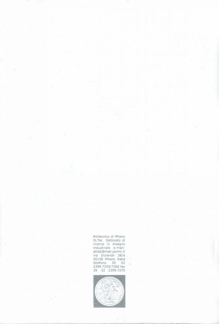"Contracapa dos anais de ""Design (plus) Research International Symposium"" (2000)"